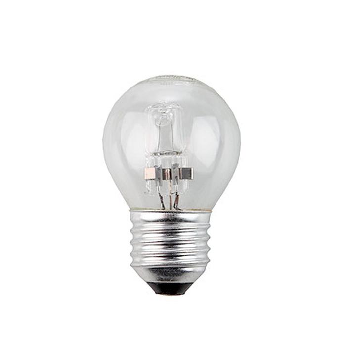 ЭРА Hal-P45-42W-230V-E27-CLC0038553ЭРА Hal-P45-42W-230V-E27-CL относится к линейке галогенных ламп, выполненных в колбах, повторяющих стандартные лампы накаливания, но при этом по энергосберегающей технологии. Это отличная альтернатива привычным лампам накаливания, благодаря меньшему потреблению электроэнергии и гораздо большему сроку службы.
