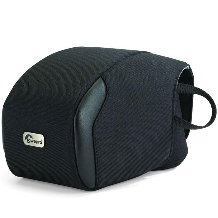 Lowepro Quick Case 120 чехол для фотокамерыQuick Case 120В чехле Lowepro Quick Case 120 можно разместить зеркальный фотоаппарат с объективом. Сумка имеет один общий карман для фотоаппарата, а также ручку для переноски и фиксатор для поясного ремня.
