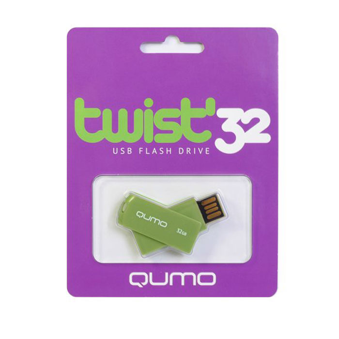 QUMO Twist 32GB, Pistachio