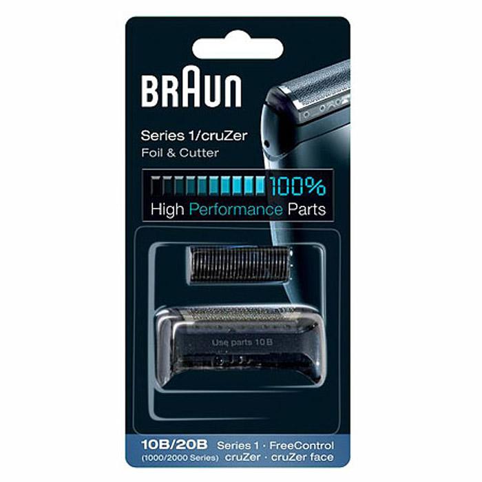 Braun Series1 10B сетка + блокSeries1 10B (для мод. 190,180)Бреющая сетка + режущий блок Braun Series 1 10B для бритв Braun Series 1 и FreeControl.Совместимые модели: Braun FreeControl 1715/1775/1735, Series 1 170/180/190