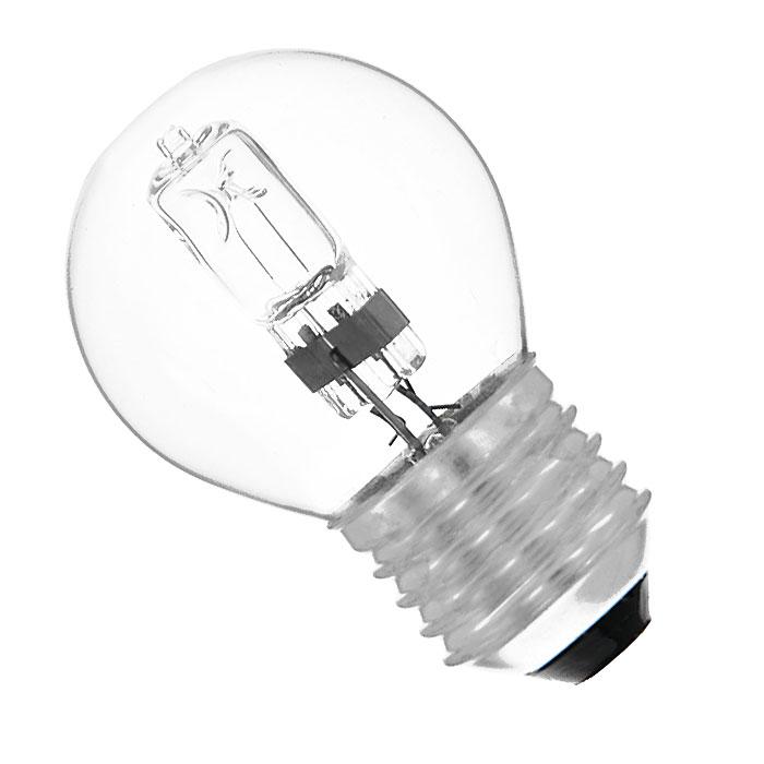 ЭРА Hal-P45-28W-230V-E27-CLC0038552ЭРА Hal-P45-28W-230V-E27-CL относится к линейке галогенных ламп, выполненных в колбах, повторяющих стандартные лампы накаливания, но при этом по энергосберегающей технологии. Это отличная альтернатива привычным лампам накаливания, благодаря меньшему потреблению электроэнергии и гораздо большему сроку службы.