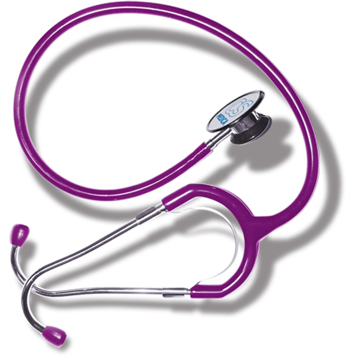 CS Меdica CS 417 стетофонендоскоп, Violet000 000 00047VLCS Меdica CS 417 стетофонендоскоп, который работает в одном из двух положений головки. Переключение прибора на работу с диафрагмой (функция фонендоскопа) или с коолколообразной чашечкой (функция стетоскопа) осуществляется поворотом головки на 180 градусов до щелчка.Большая и чувствительная диафрагма обеспечивает высокую разрешающую способность при аускультации сердечно-сосудистой системы, органов дыхания, а также внутренних органов брюшной полости.