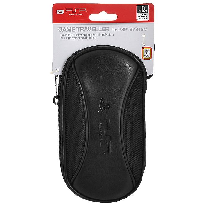 Сумка-чехол для PSP/PSP SlimSLEH-00113Сумка-чехол для PSP/PSP Slim надежно защитит вашу приставку от ударов, царапин и других повреждений. Съемный карабинВыполнен из ЭВА-материала,искусственной кожи и текстиля Внутренняя отделка - мягкий синтетический материалИмеет отделения для UMD-дисков и других аксессуаровОфициально лицензированный продукт компанииSony