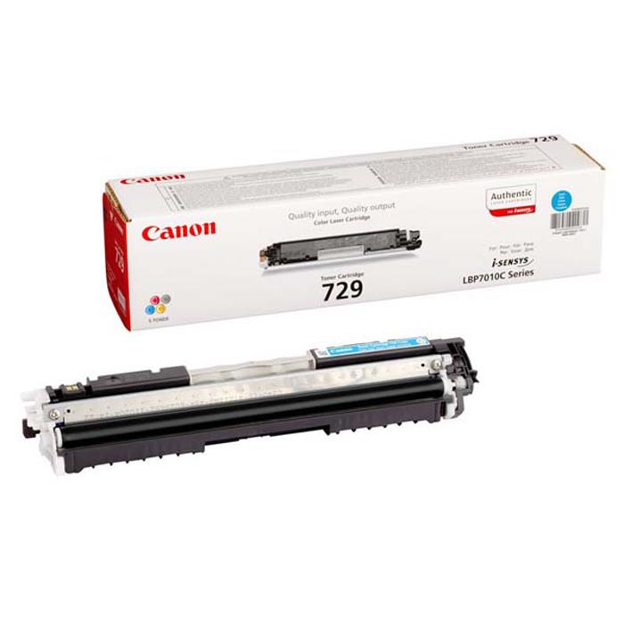 Canon 729 картридж для LBP-7010C/7018C, Cyan4369B002Тонер-картридж Canon 729 раздельной конструкции с использованием инновационного S-тонера обеспечивает превосходное качество полноцветных отпечатков на Вашем принтере.