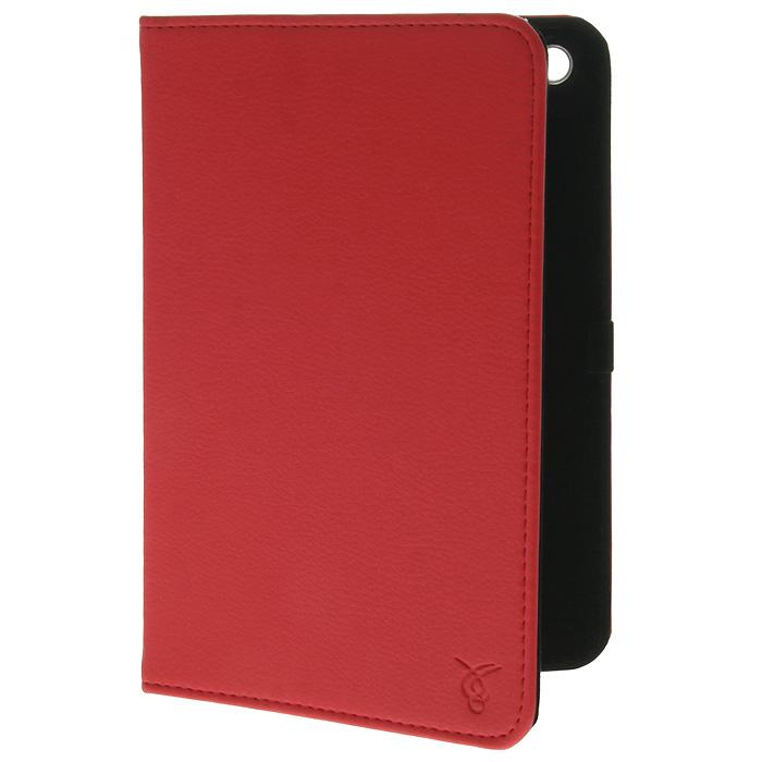 Vivacase Stripes кожаный чехол-обложка для iPad Mini, RedVAP-AMS003-RЧехол-обложка из искусственной кожи Viva Stripes для iPad Mini надёжно защищает гаджет от пыли и царапин. Данный чехол выполнен в различных цветовых решениях.