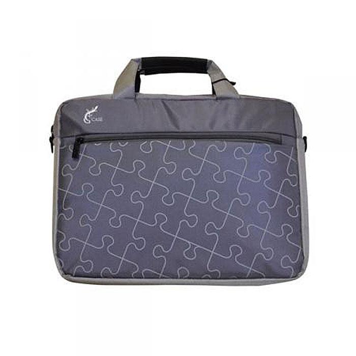 G-case GG-03 cумка для ноутбука 10-11,6, Grey12-1104Сумка для ноутбука G-case с вертикальной загрузкой и с ручкой для переноски на плече. Стенки сумки выполнены из пенообразного материала, благодаря чему Ваш ноутбук защищён от пыли, царапин и ударов.