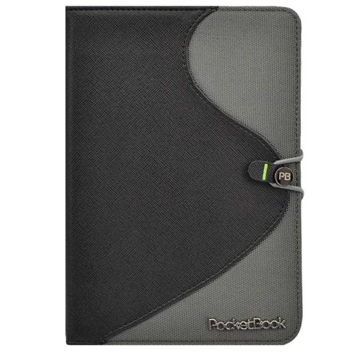 Vivacase S-style Lux обложка для PocketBook Basic 613/611, Black Grey