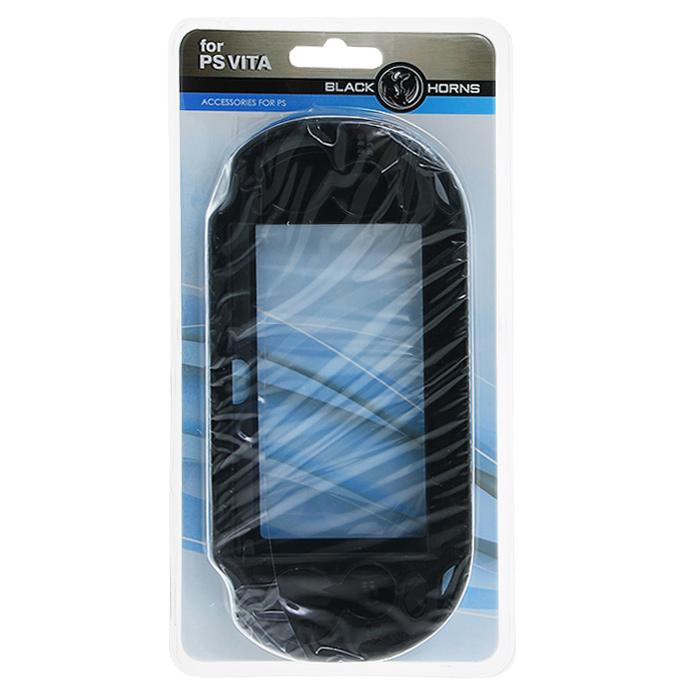 Защитный металлический чехол Black Horns для PS Vita (черный)BH-PSV0201(R)Защитный металлический чехол Black Horns - это наиболее надежная и прочная защита для вашей PS Vita от грязи, царапин, потертостей.Чехол изготовлен из поликарбоната с металлическими вставками для большей прочности Вам будут доступны все кнопки управления и разъемы: джойстик, слот для карты памяти