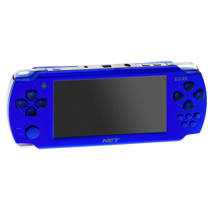 Портативная игровая консоль EXEQ NET (синяя) - Игровые консоли