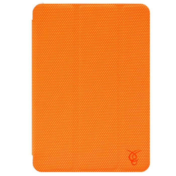 Vivacase Smart LuXus чехол для iPad Mini, Orange (VAP-AC00307-or)VAP-AC00307-orКачественный чехол Viva Smart LuXus для iPad mini защищает Ваш планшетный компьютер с двух сторон, переводит в его спящий режим при закрытии, а также может быть использован как подставка.Заднюю часть планшета защищает пластиковый каркас, который плотно защелкивается, оставляя открытыми камеру, динамики и кнопки управления планшетом. Верхняя крышка - обтянутые мягкой тканью магнитные пластины, которые переводят планшет в спящий режим при закрытии. Они же складываются в подставку, используя которую планшет можно установить в удобное положение на столе для просмотра видео или чтения. Внутри устройство крепится с помощью каркаса X-back изготовленного из плотной резины.Внешняя поверхность чехла полностью покрыта резиновой накладкой с протектором. Благодаря ей планшет не скользит на гладких поверхностях и надежно лежит в руках. Он надежно защищает планшет от появления царапин и при этом практически не увеличивает размеров самого устройства.