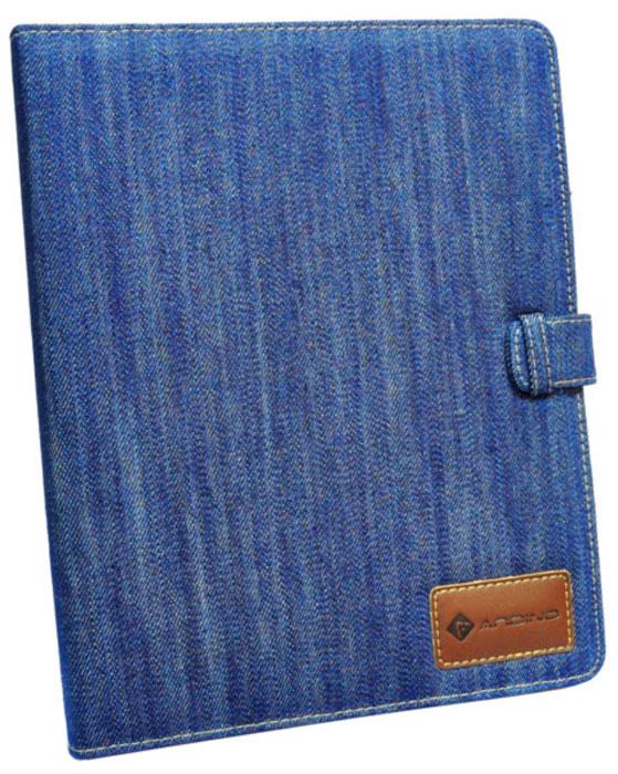 Andino Texas Blue чехол для iPadTS16GJF370Функциональный и стильный чехол Andino изготовлен из джинсовой ткани, которыйзащитит Ваш любимый гаджет от пыли и грязи, поможет при ударах и падениях, смягчая удары, не позволяя образовываться на корпусе царапинам и потертостям. Данный чехол подчеркнет Ваш стиль и станет отличным дополнением к имиджу.