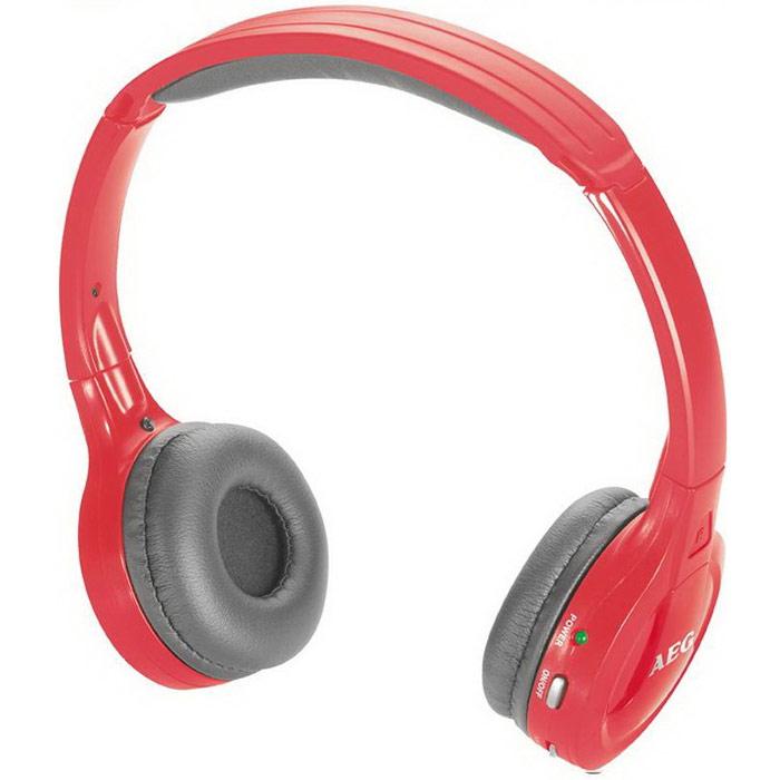 AEG KH 4223 BT Stereo, Red Bluetooth-наушники aeg kh 4223 bt stereo red bluetooth наушники