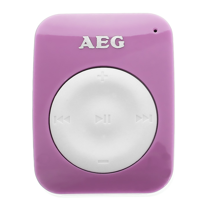 AEG 4GB MMS 4221, Pink White mp3-плеер mp3 плеер samsung yp cp3