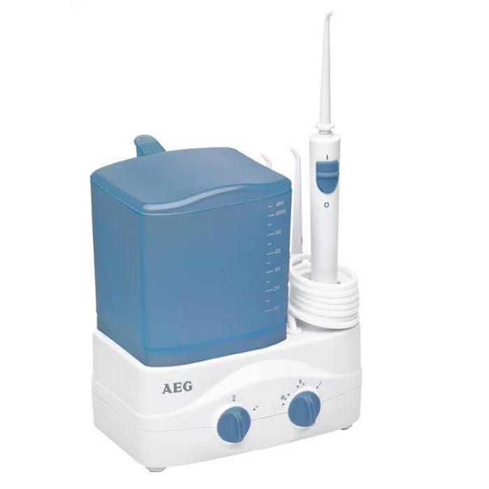 AEG MD 5613, White Blue ирригаторMD 5613 weis-blauИрригатор AEG MD 5613 идеален для гигиены полости рта, для очистки и массажа десен.