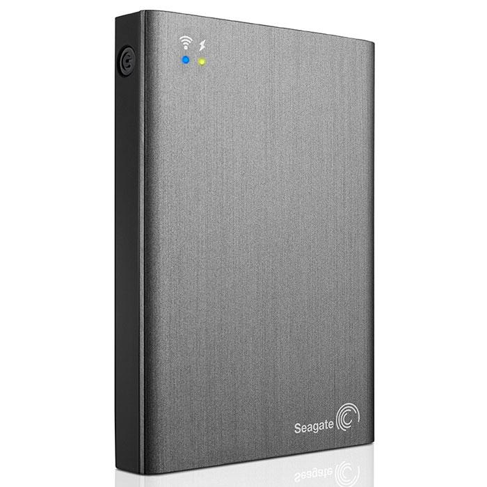 Seagate Wireless Plus 1TB USB3.0/Wi-Fi, Black (STCK1000200) внешний жесткий диск