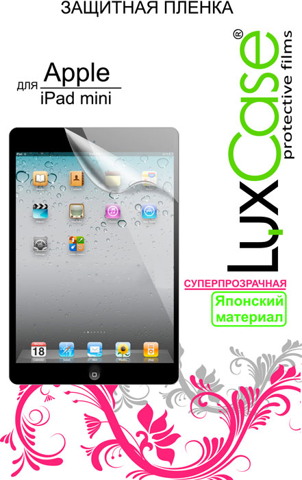 Luxcase защитная пленка для Apple iPad mini, суперпрозрачная