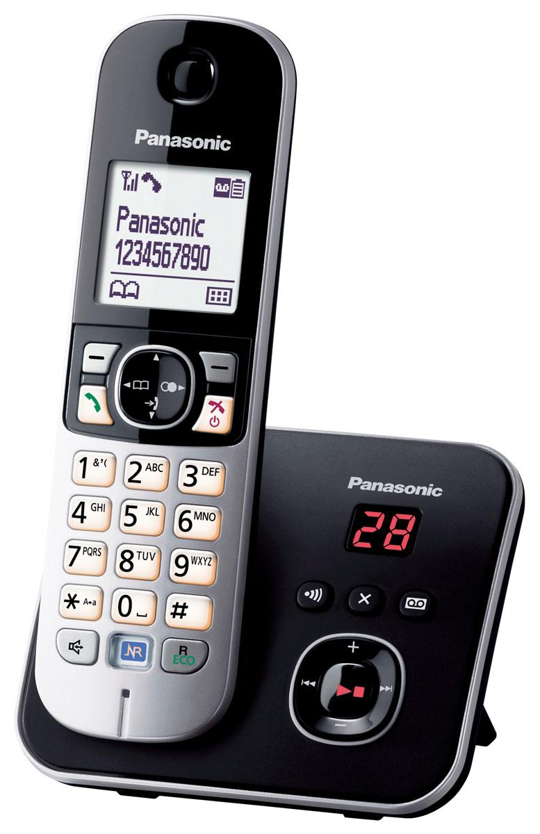 Panasonic KX-TG6821 RUB DECT телефон panasonic kx tg8061 rub dect телефон