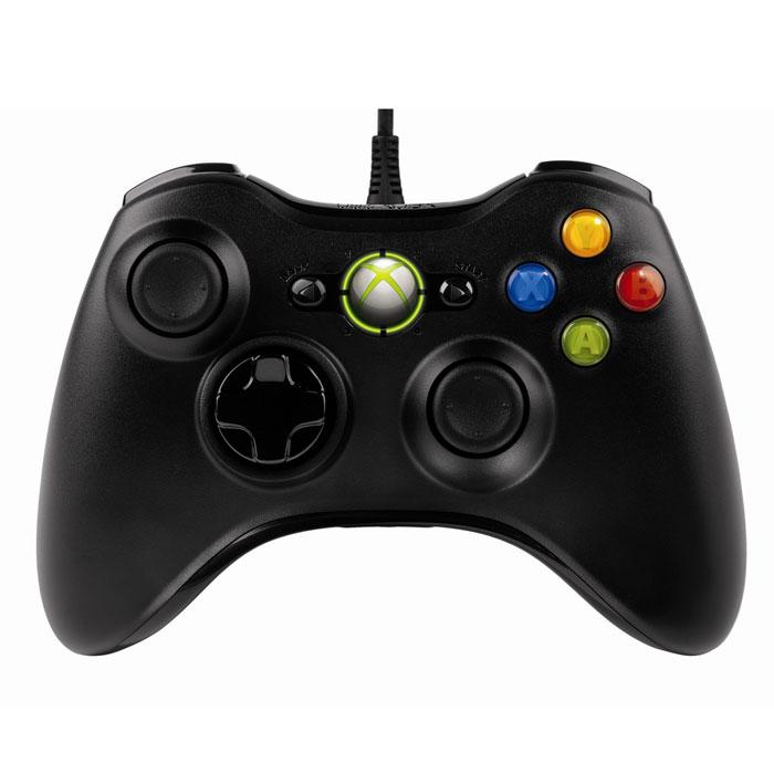 Проводной геймпад для Xbox 36052A-00005Проводной геймпад для Xbox 360 с интегрированный выходом для гарнитуры. Точный, настраиваемый и комфортный - все, что нужно для игр. Обратная связь датчика вибрацииПочувствуйте игру по-настоящему. Датчик вибрации делает каждую игру захватывающей. ЭргономичнаяНаслаждайтесь удобством игры. Признанный эргономичный и компактный дизайн сделает игру более комфортной. Гибкий шнурТонкий и гибкий шнур позволяет ощутить удобство, сравнимое с использованием беспроводного устройства, сохраняя при этом высокую производительность проводного контроллера. Не забудьте приобрести подписку Xbox Live Gold (ссылка на https://www.ozon.ru/context/detail/id/7102216/?item=28577322)