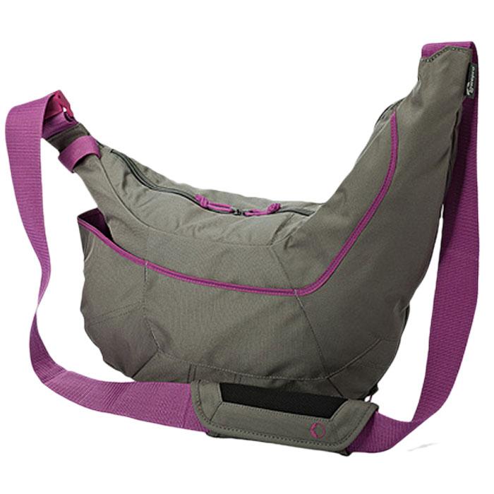 Lowepro Passport Sling II, Grey сумка для ф/аппаратурыLP36523-0RULowepro Passport Sling II - это отличная сумка для фотоаппарата. Расширяемый отсек позволяет распаковать и увеличить внутреннее пространство для хранения на 30% тем самым трансформироваться под ваши устройства. Также есть дополнительные карманы для аксессуаров, и надежный плечевой ремень который позволит легко транспортировать сумку.