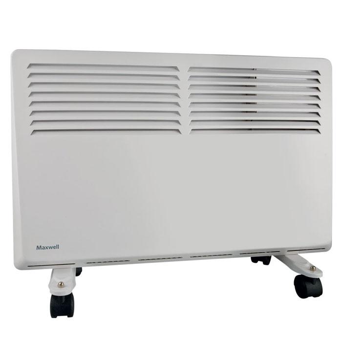 Maxwell MW-3473(W) радиаторMW-3473(W)Мощный конвектор Maxwell MW-3473(W) имеет 3-позиционный регулятор мощности, способен обогревать площадь до 20 кв.Обогреватель оснащен функцией автоматического аварийного отключения. Если прибор начнет перегреваться, то сработаетавтоматический термопредохранитель.