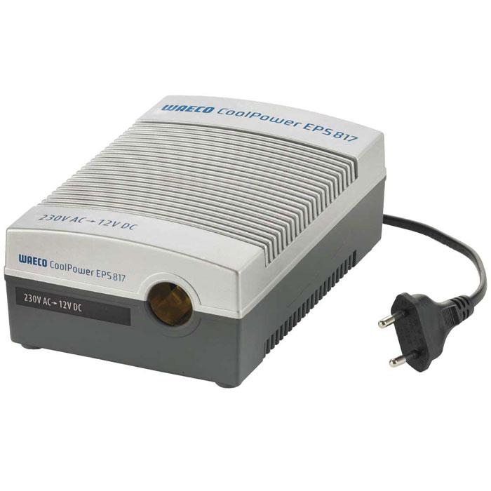 WAECO CoolPower EPS817 адаптерEPS-817UСетевой адаптер WAECO CoolPower EPS817 предназначен для присоединения термоэлектрических холодильников WAECO 12/24 В к сети 230 В.Входное напряжение: 230 В перем. тока, 50 ГцВыходное напряжение: 13 В пост. токаРабочее напряжение: 12/24 В пост. токаВыходной ток: 6 AПредохранитель: T630 мА 250 ВРаботает с термоэлектрическими холодильниками WAECO и компрессорными холодильниками WAECO CDF-18/CDF-25