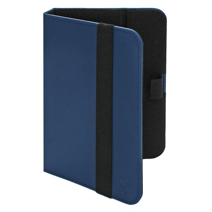 Vivacase Lira кожаный универсальный чехол-обложка для планшетов 9-11, Blue