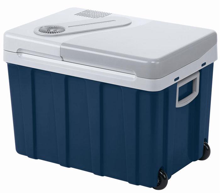 MOBICOOL W40 мобильный холодильник 40 лW40 AC/DCТермоэлектрическиймобильный холодильник MOBICOOL W40 предназначен для сохранности продуктов питания и напитков в летний зной. Объем этого бытового прибора равен 40 литрам. Сумка холодильник охлаждает до 18°С ниже окружающей температуры. Высота этого бытового прибора позволяет разместить бутылки объемом 2 литра.