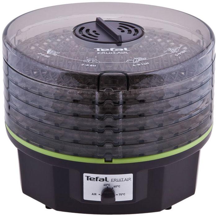 Tefal DF1008 Электрическая сушкаDF100830Tefal DF100830 - электросушка с 3 температурными режимами для различных продуктов: зелень, овощи/грибы, фрукты. С помощью данной сушки можно также приготовить пастилу.Активная циркуляция горячего воздухаТеплоизоляция корпусаГибкий поддонДля ингредиентов с высоким содержанием сока