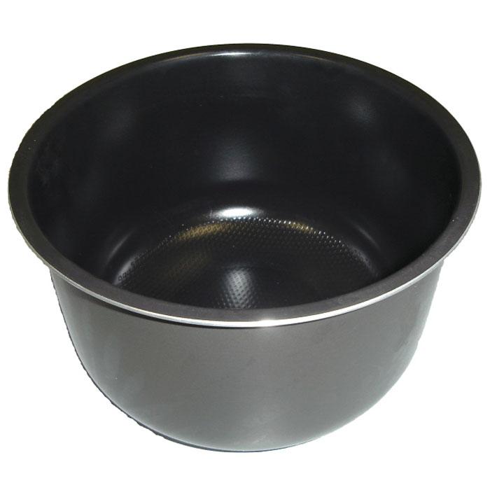 Brand чаша для cкороварки 6051, 5 л6051чСъемная чаша из алюминиевого сплава с антипригарным, керамическим покрытием и шкалой объема для скороварки BRAND 6051.