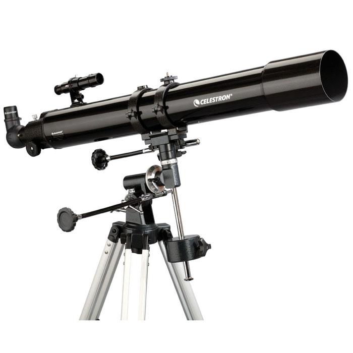 Celestron PowerSeeker 80 EQ телескоп-рефракторC21048Телескоп Celestron PowerSeeker 80 EQ обладает необходимым для начинающего наблюдателя набором базовых функций и предлагается по минимальной цене. Теперь, с помощью телескопа серии PowerSeeker Вы сможете познакомить своего ребенка со звездным небом, не тратя на оборудование астрономические суммы.Во всех инструментах серии используются только стеклянные объективы, имеющие большое преимущество перед пластиковыми линзами, используемыми в телескопах начального уровня некоторых других производителей. Для улучшения пропускания света на оптические элементы нанесено эффективное просветляющее покрытие.Упакован в двойную картонную коробку.