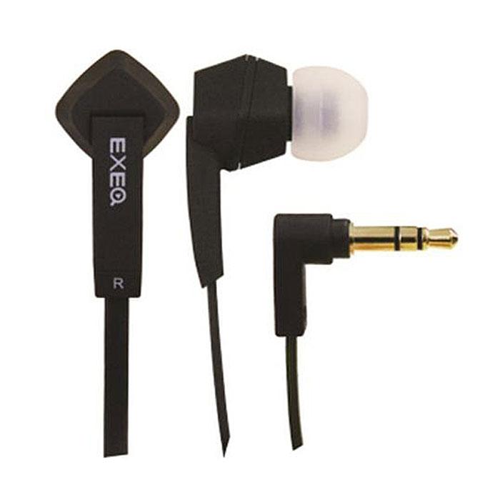 EXEQ HPC-002, Black наушникиHPC-002 BLEXEQ HPC-002 - высококачественные наушники с плоским кабелем с защитой от спутывания. Наушники представляют серию Pure Color - чистые яркие цвета в комбинации со стильным дизайном. Кроме яркого дизайна наушники HPC-002 также обладают сильными техническими характеристиками: высококачественный пластик обеспечивает точную передачу звука, воздушные каналы турбо басов позволяют максимально четко воспроизводить низкие частоты. Для блокировки нежелательных шумов в комплекте с наушниками HPC-002 поставляются мягкие силиконовые амбушюры 3-х размеров, которые удобно помещаются в ушах и не оказывают давления на ушную раковину. Прочный L-образный штекер с позолоченным 3.5 мм джеком позволит комфортно подключить наушники EXEQ HPC-002 ко многим портативным устройствам. Наслаждайтесь качественным звуком и чистым ярким цветом ваших музыкальных устройств!Чистый цвет оригинальных форм:Наушники EXEQ HPC-002 представляют серию Pure Color - чистые яркие цвета в комбинации со стильным дизайном. Наушники EXEQ HPC-002 имеют фигурную необычную форму корпуса, удачно дополненную приятной цветовой гаммой. На выбор предлагается 4 варианта цветового исполнения: синий, розовый, белый, черный.Качество звука:Кроме стильного дизайна наушники HPC-002 также обладают сильными техническими характеристиками: высококачественный пластик обеспечивает точную передачу звука, воздушные каналы турбо басов позволяют максимально четко воспроизводить низкие частоты. Обладая частотным диапазоном в 19 Гц-20000 Гц и чувствительностью в 105 Дб/1KHz наушники EXEQ HPC-002 способны воспроизводить четкие звуки даже на самой высокой громкости. Для блокировки нежелательных шумов в комплекте с наушниками HPC-002 поставляются мягкие силиконовые амбушюры 3-х размеров, которые удобно помещаются в ушах и не оказывают давления на ушную раковину.Практичный провод лапша:Плоский не путающийся шнур наушников EXEQ HPC-002 не только позволит вам меньше времени тратить на их подключение к устройству