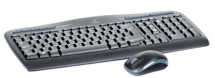 Logitech Wireless Combo MK330 клавиатура + мышь (920-003995)920-003995Logitech Wireless Combo MK330 клавиатура + мышь - решение, предоставляющее полный контроль и портативность.Для любимых занятий:11 функциональных клавиш, обеспечивающих полный контроль и легкий доступ к избранным веб-сайтам, комфортную работу с Amazon и MSN, а также удобное управление воспроизведением музыки и фильмов.Комфорт для рук:Низкопрофильные бесшумные клавиши позволяют легко и удобно общаться с помощью мгновенных сообщений и по электронной почте, а также вводить любые тексты.Чудесная беспроводная мышь:Компактная и удобная мышь с миниатюрным наноприемником — комфорт везде, где используется компьютер.