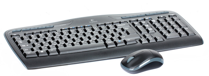 Logitech Wireless Combo MK330 клавиатура + мышь (920-003995)