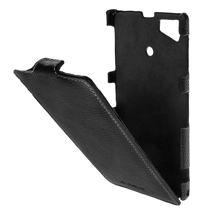 Melkco Jacka Type чехол для Sony Xperia Z1/i1, Black sony dk31 для xperia z1 black купить
