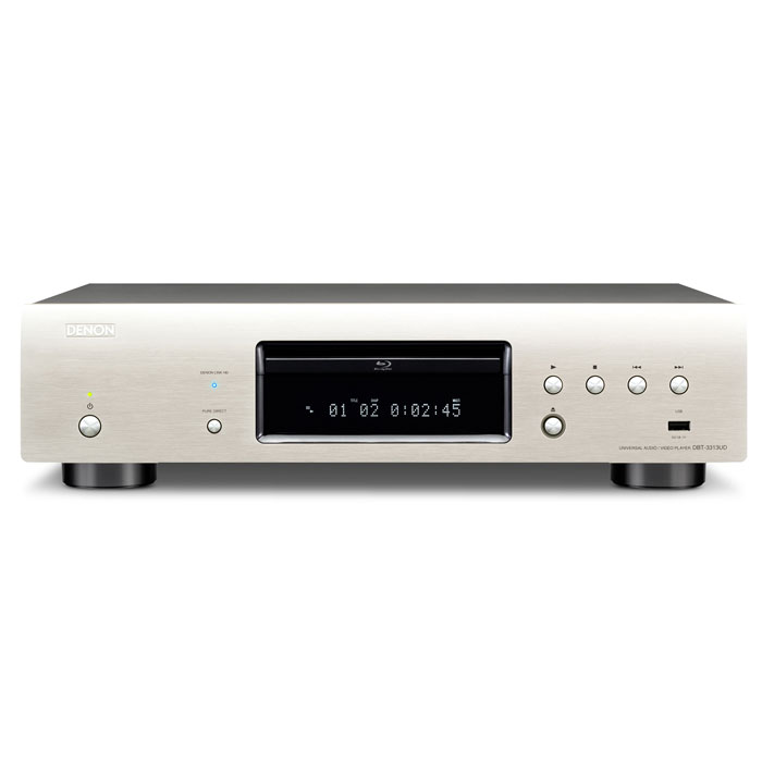 Denon DBT-3313, Siver Blu-Ray проигрыватель - DVD и Blu-Ray-плееры