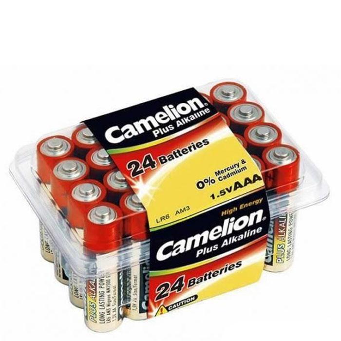 Camelion LR03-PB24 Plus, батарейки 1.5В, 24 шт