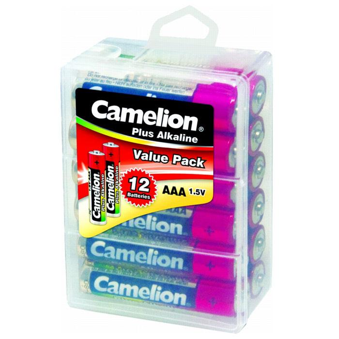 Camelion LR03-PBH12 Plus, 12 батареек,1.5В10647Щелочные алкалиновые батарейки Camelion LR03-PBH12 отличаются долгим сроком работы, подходят для -аудио -видео техники, а также другой электроники и бытовых приборов. Сделаны из качественных материалов.