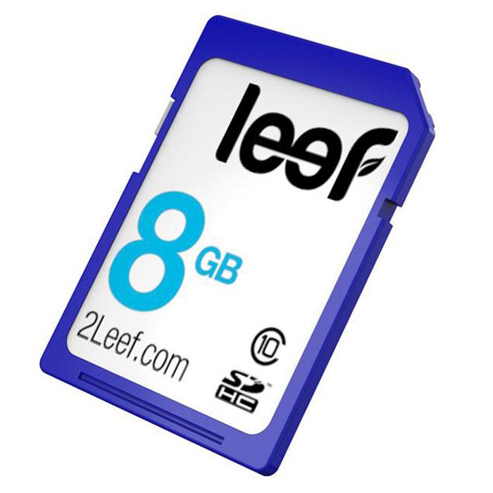 Leef SDHC 8GB, Class 10LFSDC-00810RКомпактная и универсальная карта памяти Leef SDHC позволяет надежно хранить фотографии, музыку, фильмы и любую другую информацию. Она выпускается в вариантах емкостью от 4 ГБ до 64 ГБ и идеально подходит для цифровых фотоаппаратов и видеокамер. Кроме того, карты памяти Leef SDHC имеют водонепроницаемое исполнение и защиту от пыли. Вся продукция Leef водонепроницаемая, ударопрочная, имеет пылезащищенный корпус и устойчива к работе в экстремальных температурных условиях.