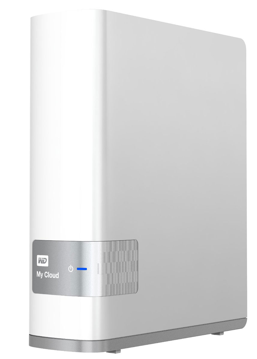 WD My Cloud 4TB (WDBCTL0040HWT-EESN) внешний жесткий дискWDBCTL0040HWT-EESNMy Cloud дает вам возможность централизованно и надежно хранить все свои материалы дома. Без абонентской платы. Без ограничений. Доступ откуда угодно. Бесплатные программы WD помогут вам загружать, отправлять и совместно использовать файлы на ПК, Mac, планшетах и смартфонах, где бы вы ни находились. Централизация медиаколлекции вашей семьи:Централизованно и защищенно храните и упорядочивайте все фотоснимки, видеоролики, мелодии и важные документы своей семьи в своей домашней сети.Гибкие возможности резервного копирования:Резервное копирование по-вашему. С программой WD SmartWare Pro пользователи ПК могут сами выбирать, когда, куда и как сохранять резервные копии файлов. Пользователи компьютеров Mac могут использовать все возможности программы резервного копирования Apple Time Machine для того, чтобы защитить свои данные.Увеличьте емкость своего планшета и смартфона:Отправляйте фотоснимки и видеосъемки сразу в свою персональную облачную систему, где бы вы ни были, и освобождайте место на своих мобильных устройствах.Автоматическое резервное копирование со всех ваших компьютеров:Без труда сохраняйте резервные копии файлов со всех компьютеров типа PC и Mac в своем доме. Будьте уверены в том, что резервные копии всех файлов в вашей сети автоматически сохраняются в защищенном режиме. Подключение к Dropbox и другим службам:Легко обменивайтесь файлами между своим персональным облаком, Dropbox и другими общедоступными облачными службами с помощью бесплатной программы WD My Cloud для мобильных устройств. Увеличение емкости вашей персональной облачной системыПросто подсоедините совместимый USB-накопитель к порту USB 3.0 на устройстве My Cloud и моментально увеличьте емкость своей облачной системы. Ускорение передачи файлов и доступа к ним:Интерфейс Gigabit Ethernet и двуядерный процессор ускоряют передачу файлов и дистанционный доступ к ним. Защита паролем для конфиденциальности:Ваши файлы всегда в безо