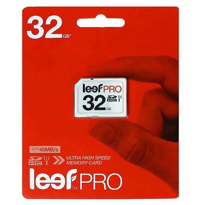 Leef SD PRO 32GB UHSLFSDPRO-03210RКомпактная и универсальная карта памяти Leef SD позволяет надежно хранить фотографии, музыку, фильмы и любую другую информацию. Карты памяти Leef SD имеют водонепроницаемое исполнение, поэтому вы не потеряете ваши важные данные. Карты памяти доступны в вариантах различного объема. Они идеально подходят для цифровых фотоаппаратов и видеокамер. Вся продукция Leef водонепроницаемая, ударопрочная, имеет пылезащищенный корпус и устойчива к работе в экстремальных температурных условиях.