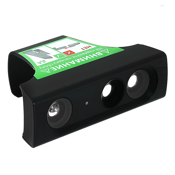 Крепление Super Zoom для KinectHHC-X010Аксессуар Super Zoom предназначен для сокращения расстояния, необходимого для комфортной игры с Kinect.Сокращает до 35 - 50% пространства, необходимого для игрСовместим со всеми программами и играми для KinectМожно использовать для одного или двух игроковЛегко защелкивается на Kinect, не вносит конструктивных измененийНе требует настройки, не нужны корректировки для ПОСтильно вписывается в защелки на Kinect сенсоре