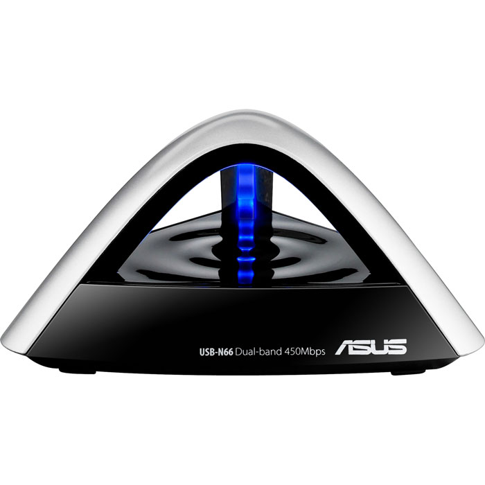 ASUS USB-N66 Wi-Fi адаптерUSB-N66Asus USB-N66 - USB-адаптер, который дает возможность подключить ваш ПК к беспроводной сети и интернету. Устройство поддерживает стандарт IEEE 802.11n и обеспечивает высокую скорость беспроводного соединения, что позволит вам просматривать видео и играть в онлайн-режиме.