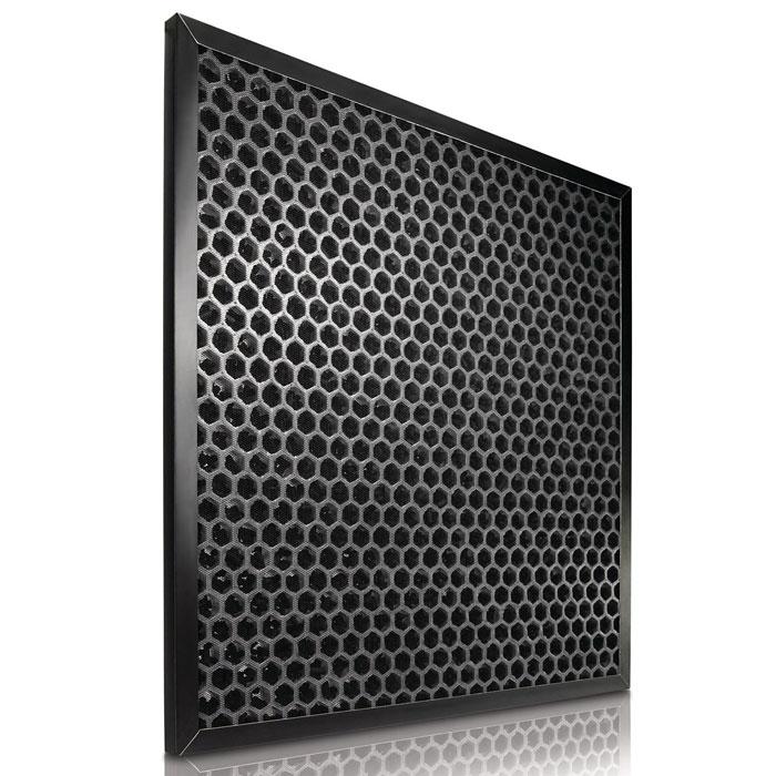 Philips AC4143/02 сменный угольный фильтр, 1 штAC4143/02Угольный фильтр высокой абсорбции Philips AC4143/02 эффективно улавливает запахи и различные вредные газы, включая формальдегид.Функция оповещения системы контроля качества воздуха своевременно предупреждает Вас о необходимости замены фильтра. В случае если замена заполненного фильтра не произведена вовремя, устройство перестанет работать. Благодаря функции блокировки системы контроля качества воздуха Вы всегда будете дышать чистым воздухом.