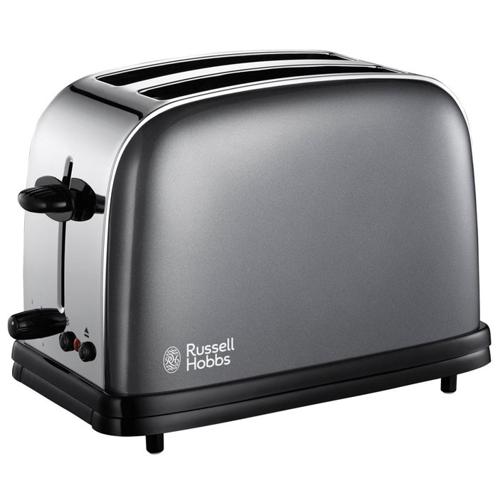 Russell Hobbs 18954-56 Colours, Grey тостер