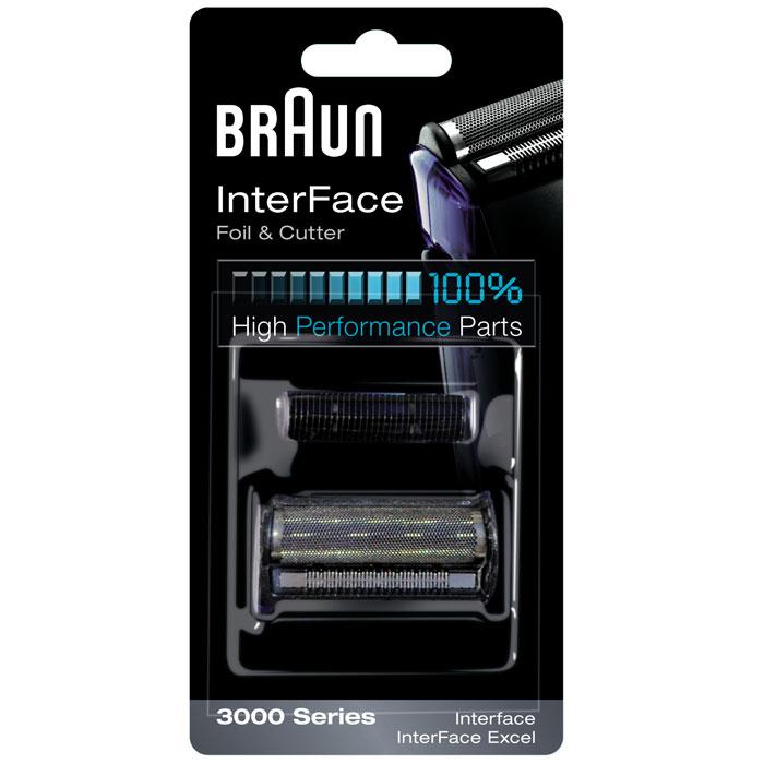 Braun сетка + режущий блок для бритвы InterFace 3000  недорого