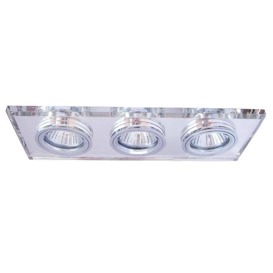 Встраиваемый светильник ARTELamp Brilliants A5956PL 3CCA5956PL-3CC