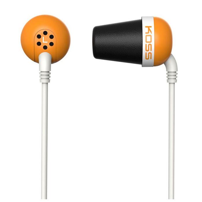 Koss The Plug, Orange наушники