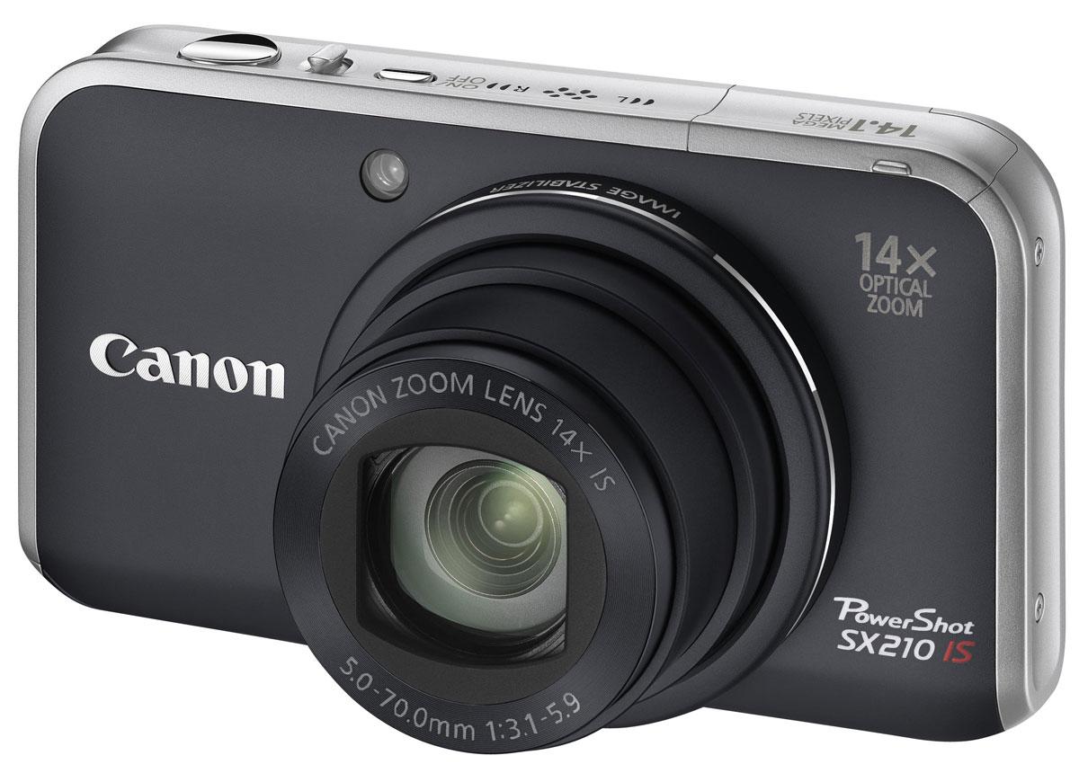 Canon PowerShot SX210 IS, Black