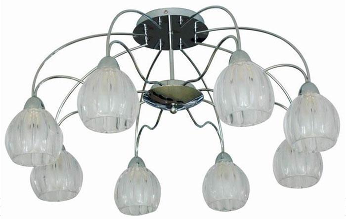 Потолочный светильник ST Luce SL319 102 08SL319 102 08Люстра SL319.102.08 - выполнена в классическом стиле. Для изготовления этой модели были использованы высококачественные материалы, такие как металл и стекло. Световой поток, направленный вниз, не создает теней и дает хорошее яркое освещение вашей комнаты.