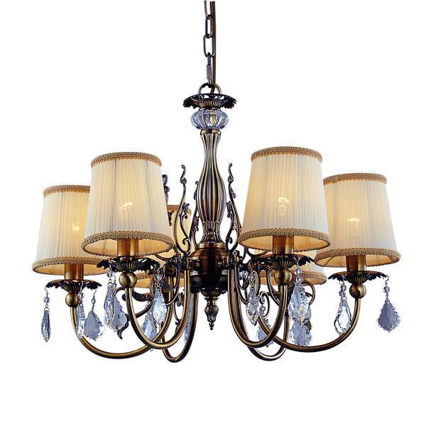 Подвесной светильник ST Luce SL113 303 06SL113.303.06Люстра SL113.303.06 - выполнена в классическом стиле. Для изготовления этой модели были использованы высококачественные материалы, такие как металл и стекло. Световой поток, направленный вниз, не создает теней и дает хорошее яркое освещение вашей комнаты.